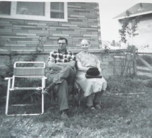 Great-Uncle Ed shares a chat with my great Grandmother Ada Elizabeth Woolgar
