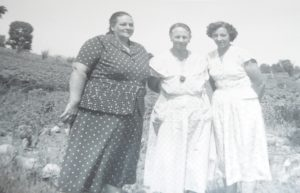 Kate, Ada and Amy, Taken July 1954