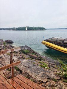 Tobermory, Ontario, Bruce Anchor Cruise, Boat, Lighthouse, Big Tub