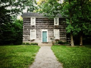 After some recent repairs the Misener House in the Westfield Heritage Village has a new lease on life.