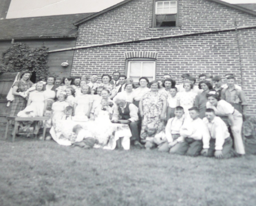 Charles Hill, Ada Woolgar, Family Reunion, 1950