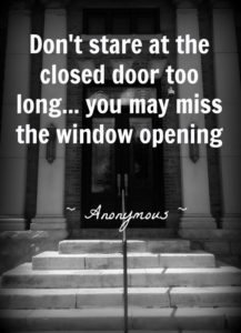 Closed Door quote,